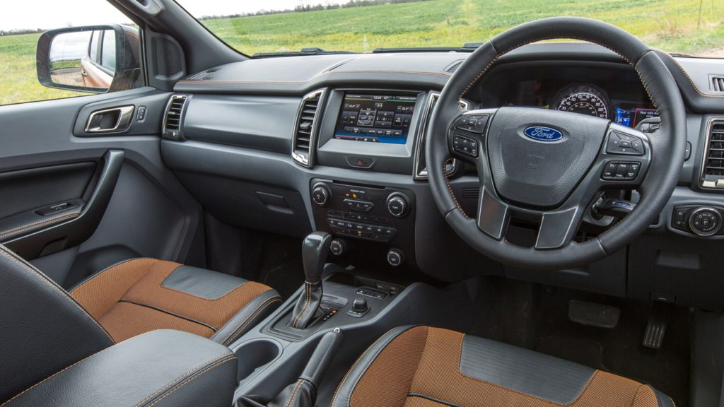 Ford Ranger Wildtrak 4x4 3.2TDCi 200PS Pick-up (2016-2019) interior