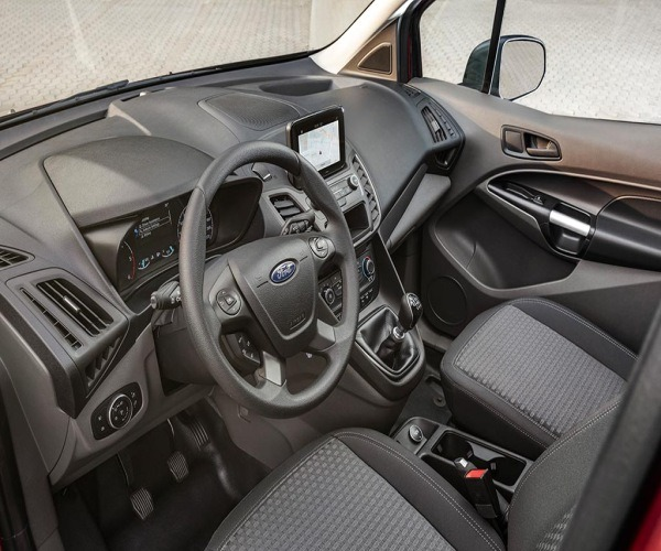 2018 Ford transit connect limited interior