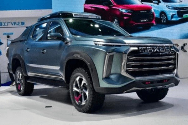 Maxus Concept Pick-up front and side view