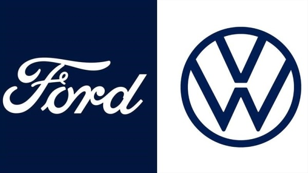Ford and VW logo's